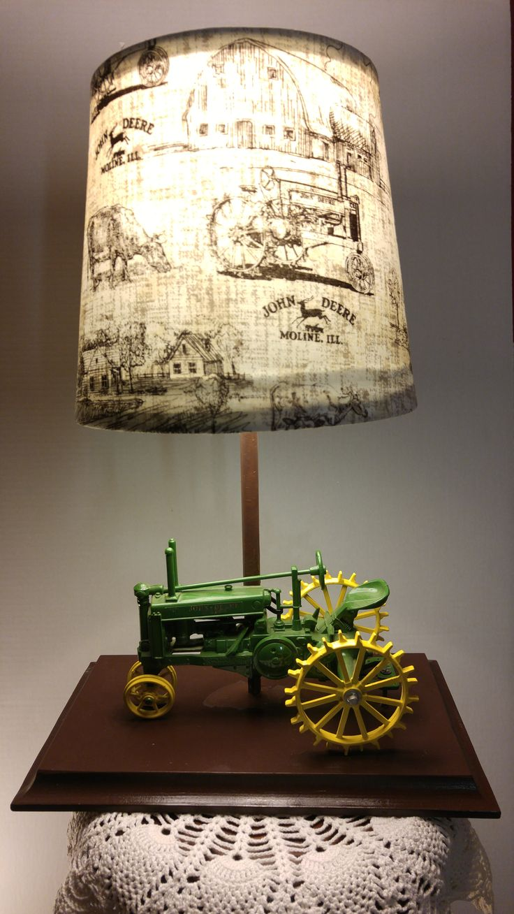 Green John Deere Lamp Shade : Best ideas about antique tractors for sale on pinterest
