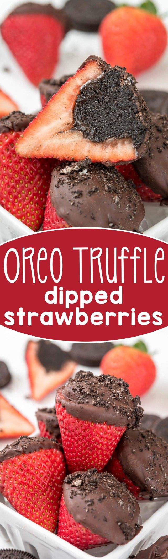Oreo Truffle Dipped Strawberries   13 Snacks Every Lazy Girl Should Know How to Make   http://www.hercampus.com/health/food/13-snacks-every-lazy-girl-should-know-how-make