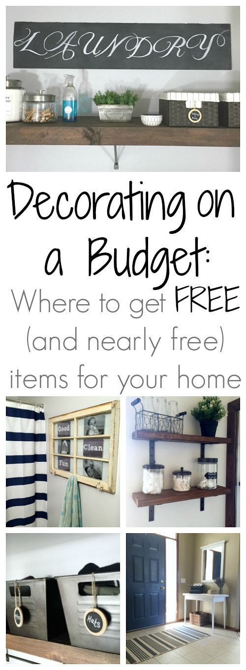 Decorating on a Budget: Where to Find Free (And Nearly Free) Decor for Your Home