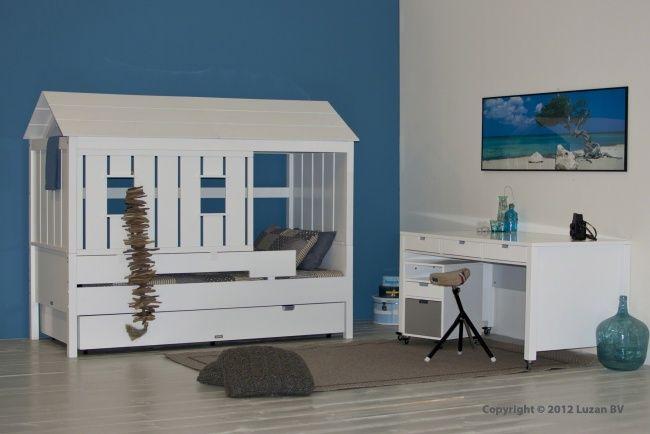 In dit kinderbed of is het een strandhuisje waan je jezelf aan