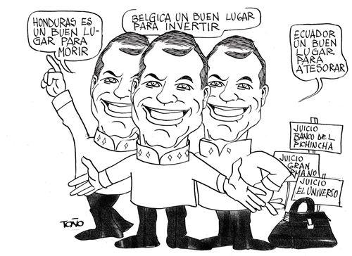 Periodismo y poder caricaturas