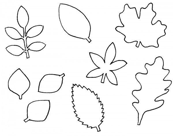Herbst Und Halloween Kerzen Mit Vorlage Handmade Kultur Blattschablone Blatt Schablone Herbstblatter Vorlagen