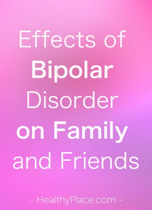 How Bipolar Disorder Affects Relationships