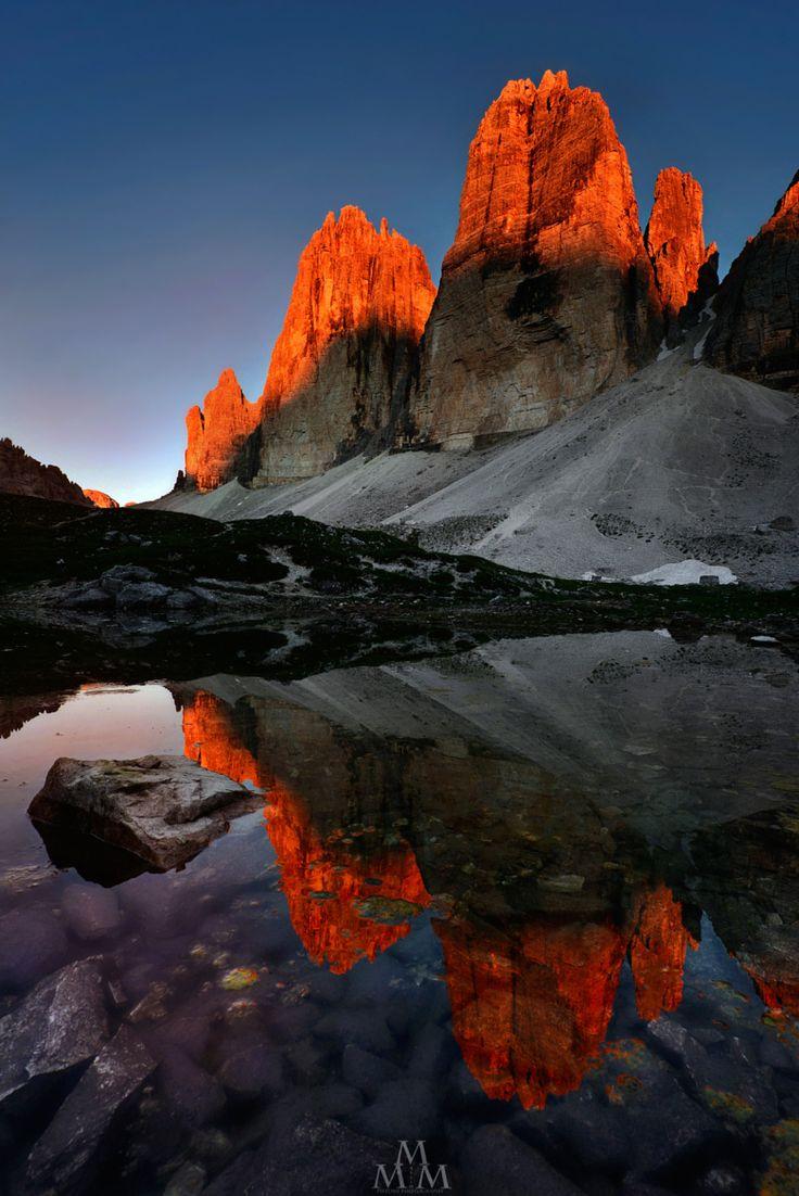 Fiery Peaks... on 500px by Massimo Pistone, La Spezia, Liguria ☀…