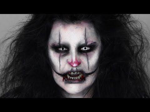 scary clown makeup tutorial  makeup camilla blog  scary