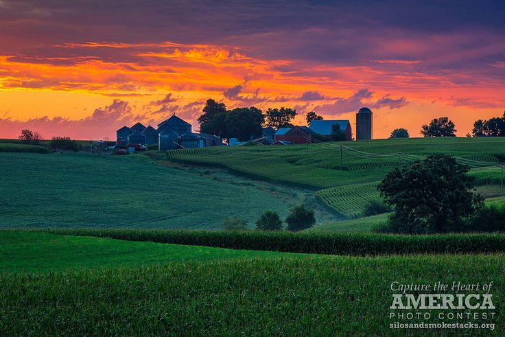 Sunrise After The Storm   by Silos & Smokestacks National Heritage Area