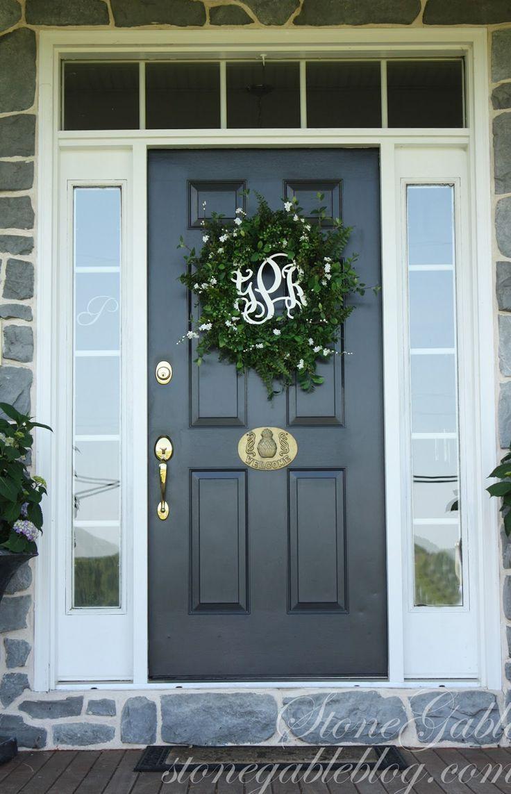 Exterior Door Colours Ideas
