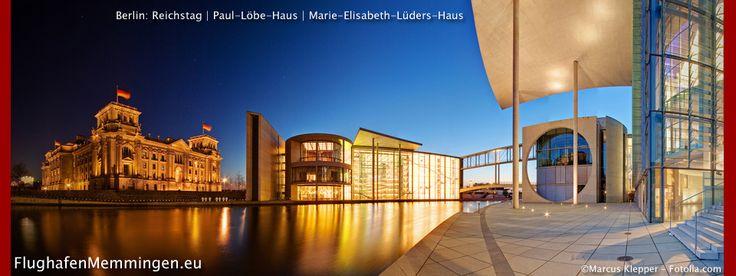Berlin ist immer eine Reise wert. Ausgesucht Reiseangebote mit Abflug Memmingen...