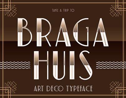 "Check out new work on my @Behance portfolio: ""Braga Huis Typeface"" http://be.net/gallery/60149645/Braga-Huis-Typeface"