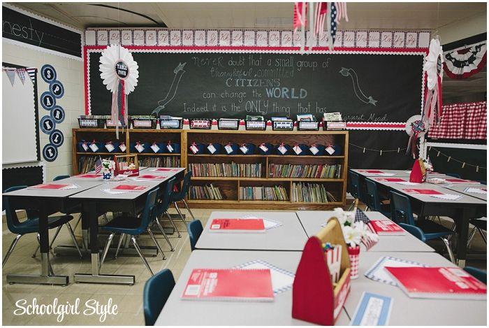 Americana Classroom Decor : County fair classroom decorating theme by schoolgirl style