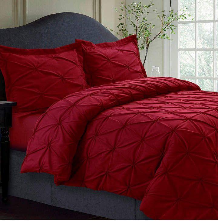 Sydney Microfiber Oversized Queen Duvet Cover Set Bedding In