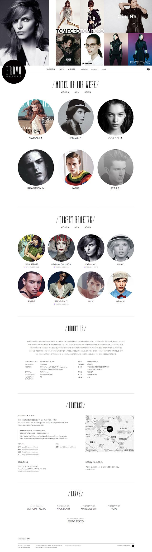 BRAVO MODELS | SIMONE INC.