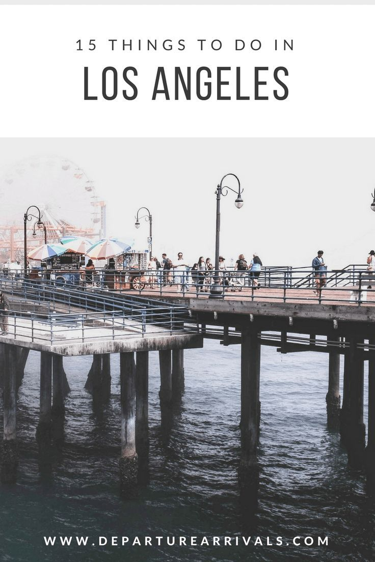 Have you ever wondered what there is to Los Angeles than celebrity spotting? There is much more than just the stars and the sand. Here is 15 things you have to do (or will definitely do) in the city of angels.