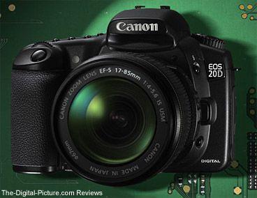 My Canon 20D.