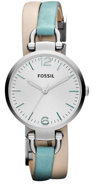 Miętowy zegarek Fossil