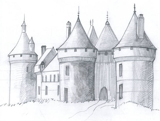 Henry, this will be fun to draw after school on Friday.m. G & G How to Draw a Medieval Castle