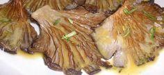 Μανιτάρια πλευρώτους στο φούρνο