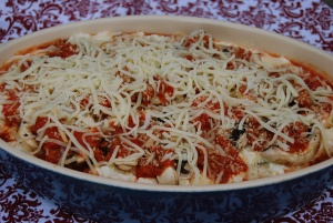 Decadent and healthy eggplant lasagna