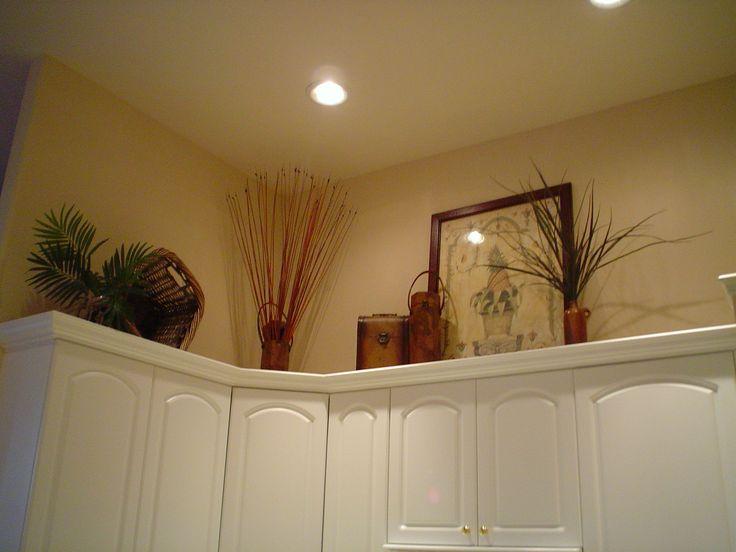 Corner Decorate Over Kitchen Cabinets Google Search