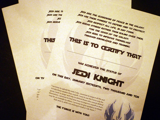 17 best images about star wars party on pinterest star for Jedi certificate template free