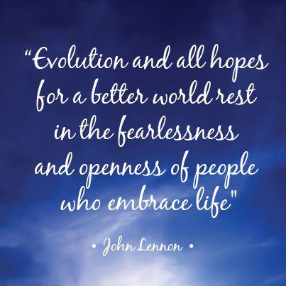 December 5th 2013 | #Fearlessness #Openness | Inspirational Quotes Advent Calendar https://www.facebook.com/WellBeingBreak