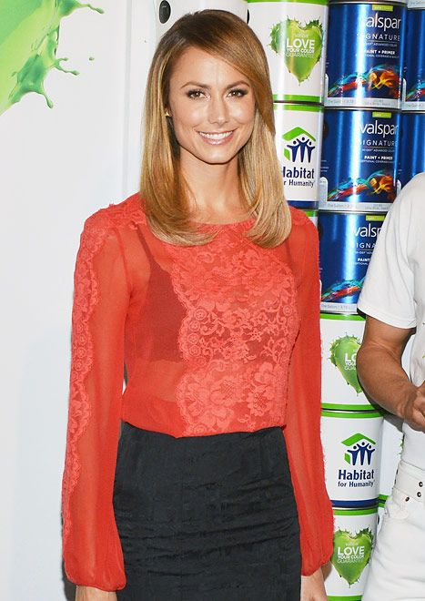 Stacy Keibler on October 24, 2012 in New York City.