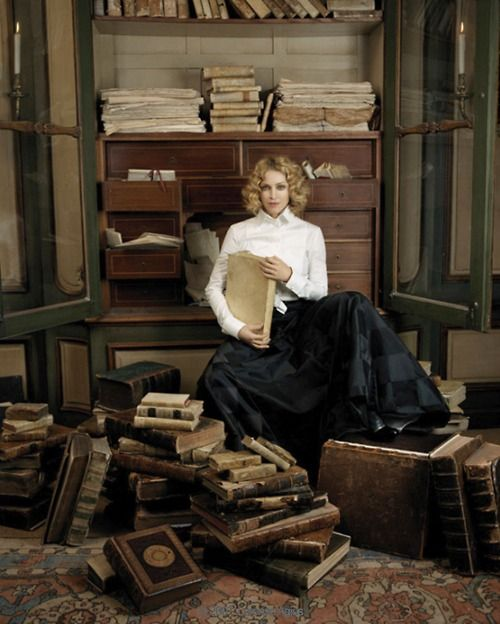 This could be me with my love for old books!