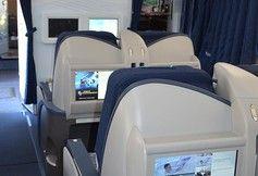 """""""Eine erste ihrer zwölf eingesetzten Boeing B-767 ist nun umgerüstet. Condor steigert den Komfort vor allem für die Vollzahler damit merklich.""""  - See more at: http://biztravel.fvw.de/condor-erster-fernflieger-mit-neuer-kabine/393/124894/4070"""
