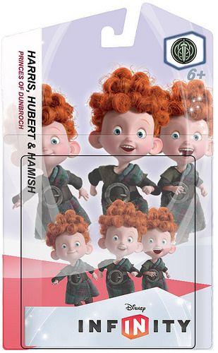 #rumorednewcharacter - Disney Infinity- Harris, Hubert & Hamish from Disney Brave.