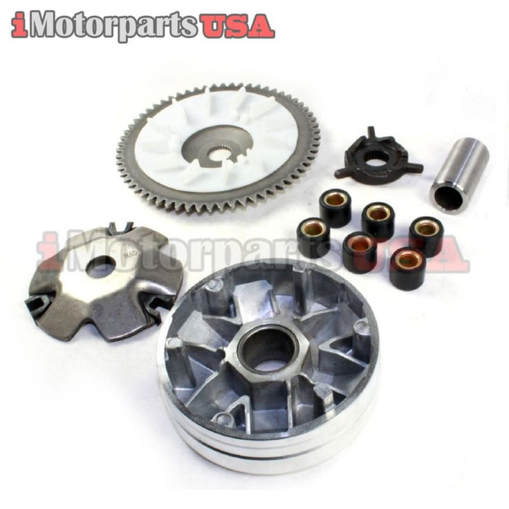 30 best scooter parts drivetrain transmission images on pinterest gy6 50 50cc qmb139 qma139 scooter variator front clutch 10 gram roller taotao fandeluxe Choice Image