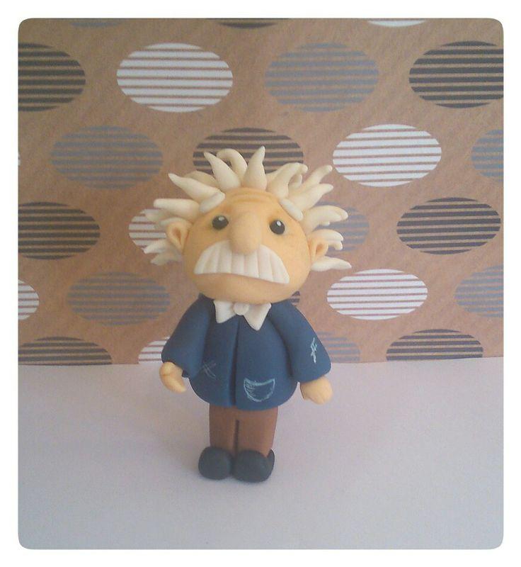 Fondant Einstein Figure ( my new favourite )