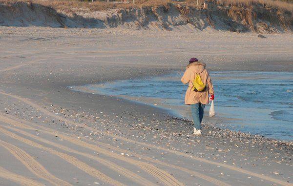 Må du tage sand med hjem fra stranden?