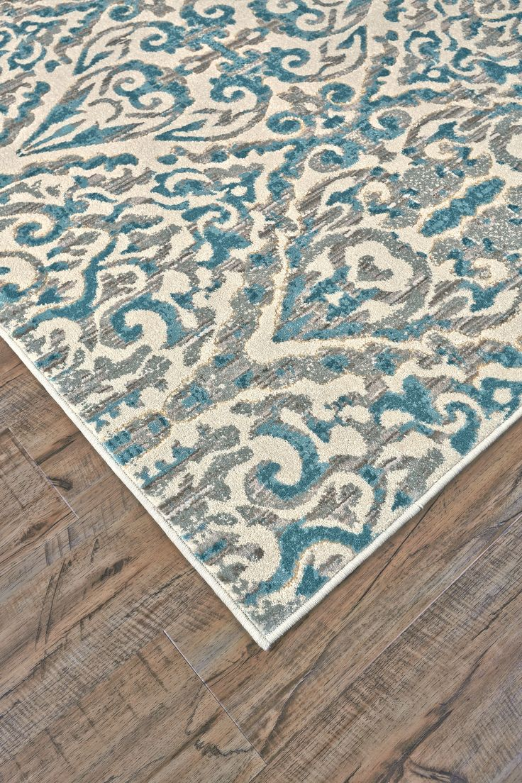 Saleya Turquoise Area Rug | Wayfair