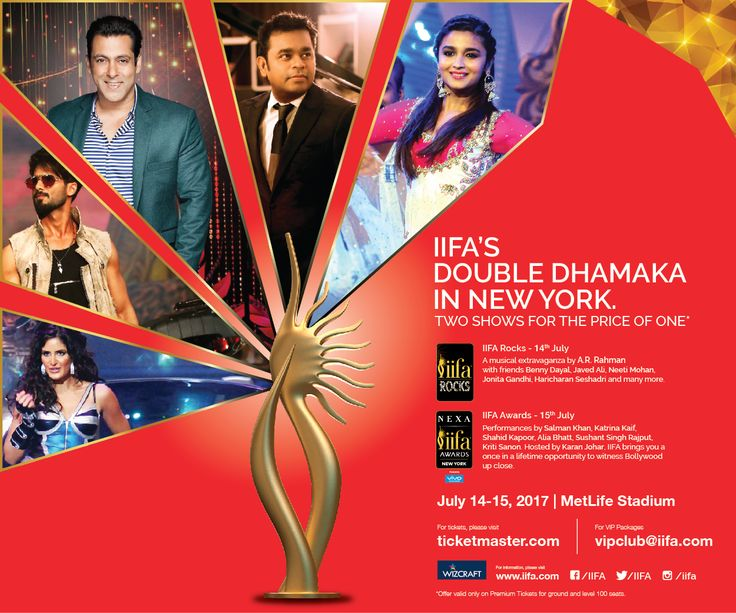 IIFA 2017: What to look forward to - News India Times