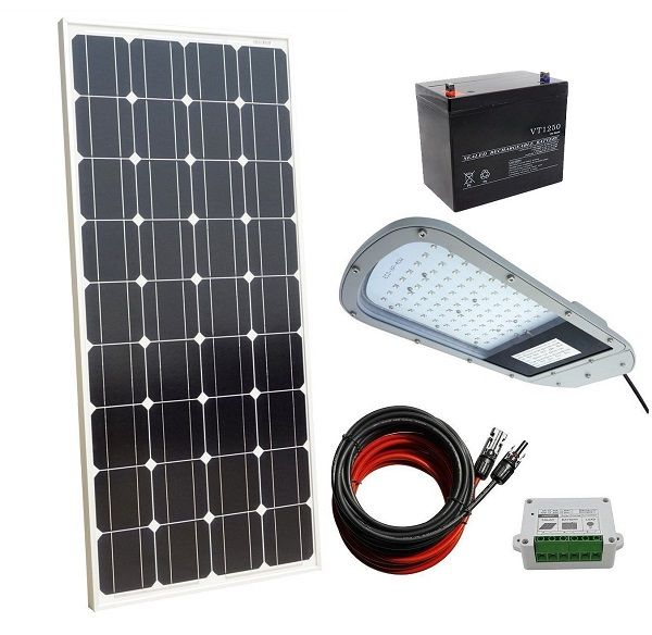 40w 12v Completed Led Solar Street Lighting System For Outdoor Yard Street Light Lighting System Solar Street Light