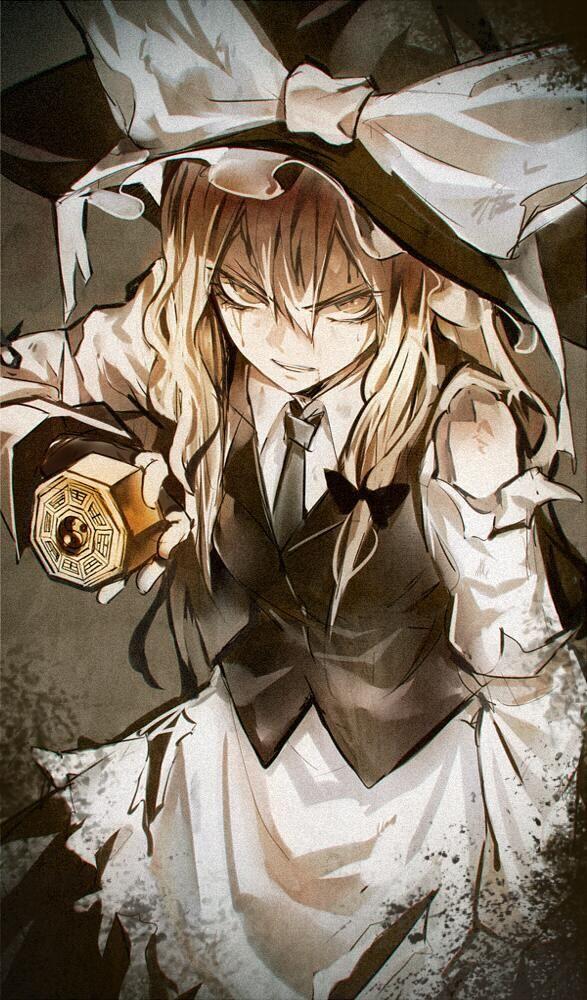 A lightly damaged witch.  By kozou.