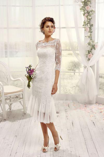 Robe De Mariée Courte Pour Femme De 50 Ans