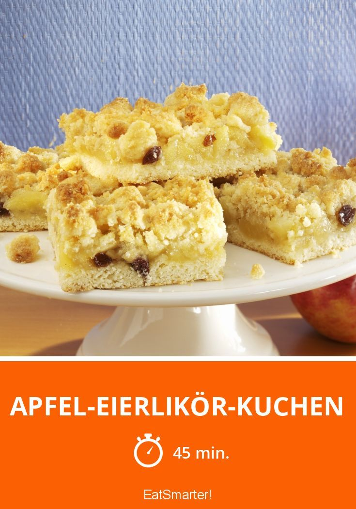 Apfel-Eierlikör-Kuchen - smarter - Zeit: 45 Min.   eatsmarter.de