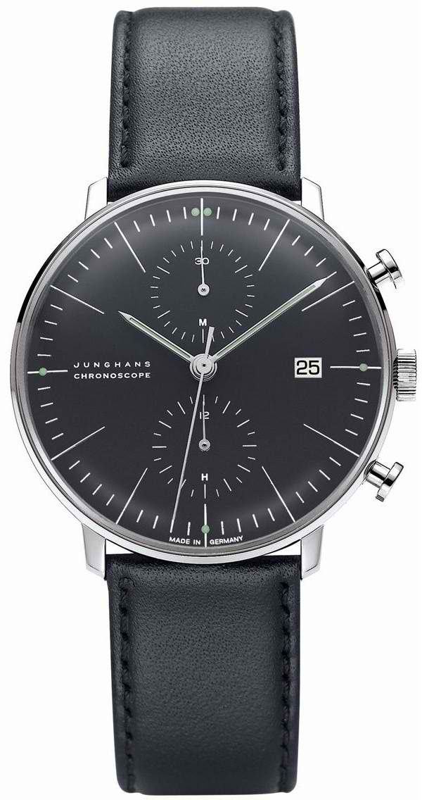 Max Bill Chronoscope Wrist Watch MB-4601 visit shopbalthazar.com