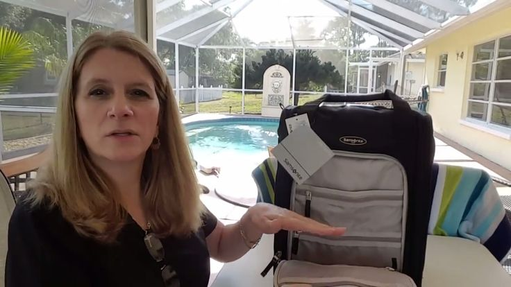 Samsonite Carry On Luggage Unboxing & Review