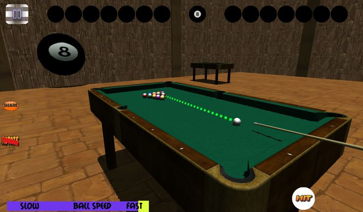 3D Free Billiards Snooker Pool FULL APK Games Free Download : better billiards game even with better touch countrol and even 3D