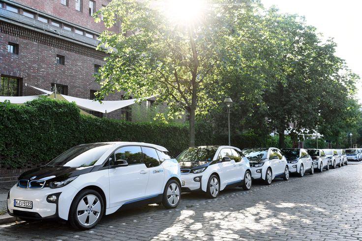 BMW i3 at DriveNow Berlin