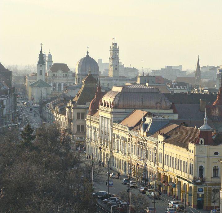beautiful panorama landscape oradea romanain cities eastern european city architecture roumanie