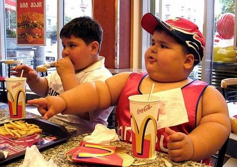 To most peoples surprise, fast food is not the culprit for childhood obesity. It's more about the amount of food one eats at one time. #dietfreelife