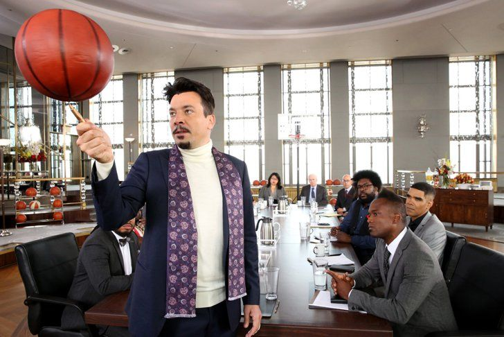 Pin for Later: Jimmy Fallon's Cameo-Filled Empire Spoof Is So Much to Take In  Fallon's impression is pretty great.