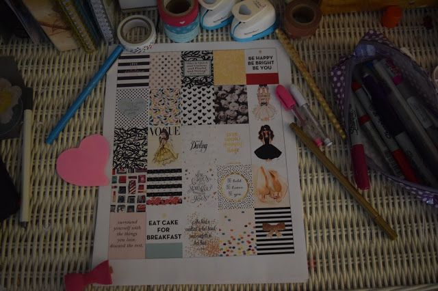 KATE SPADE INSPIRED PLANNER STICKERS - FREE DOWNLOAD