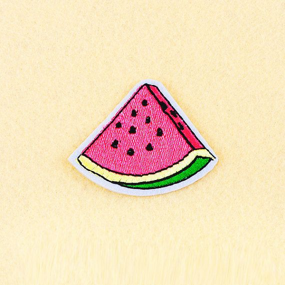 Watermelon+Patch++Iron+on+patch+Sew+On+patch++by+SimplePatchesShop