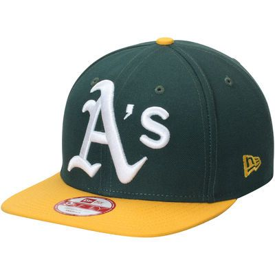 Oakland Athletics New Era Logo Grand Redux 9FIFTY Adjustable Hat - Green/Gold