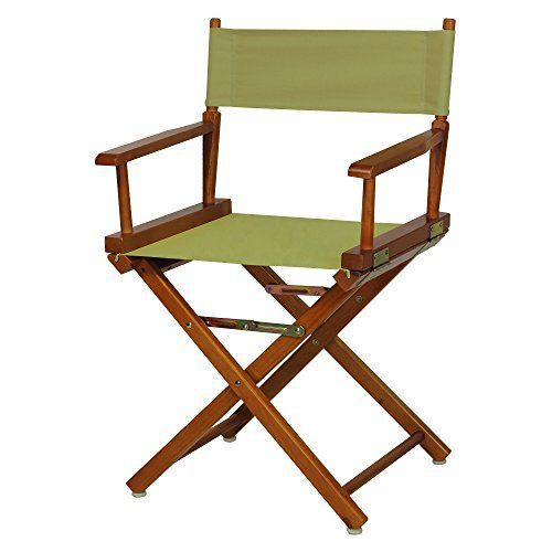 Discover a variety of uses for this classic-style Director's Chair. Constructed with 100% solid wood, this portable Director's Chair is built for lasting strength. Foldable design makes transportation and storage a breeze–meaning you can move it from room to room or transport it for s... more details available at https://furniture.bestselleroutlets.com/game-recreation-room-furniture/directors-chairs/product-review-for-casual-home-18-directors-chair-honey-oak-fram
