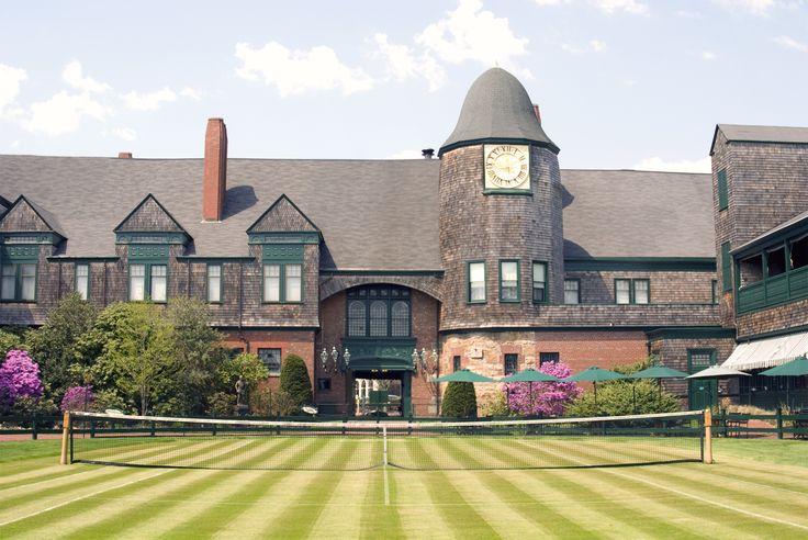 International Tennis Hall of Fame.  Newport, Rhode Island  #tennis